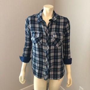 Plaid shirt - great cut
